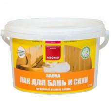 НЕОМИД sauna (1л)  Лак акрилов. для бань и саун  (12)