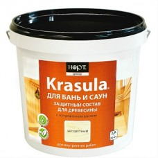 Защитный состав для бань и саун KRASULA  0,95кг(4