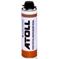 Очиститель затвердевшей пены ATOLL 500мл (360гр)
