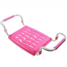 Сиденье для ванной  раздвижное (пластик) розовый СВ5 Ника