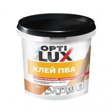 Клей ПВА Оптилюкс Строит.универс. 1,0 кг ведро (12)