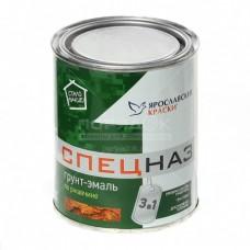 Грунт-эмаль СПЕЦНАЗ по ржавчине белая RAL 9003, банка 0,8 кг