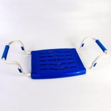Сиденье для ванной  раздвижное (пластик) индиго СВ5/И Ника