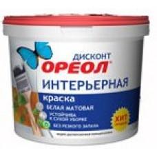 """ВДАК """"Ореол""""ДИСКОНТ 1,5кг интер.белая матов (6)"""