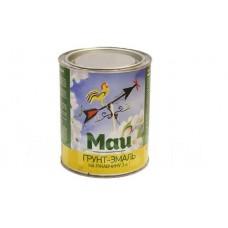 Грунт-эмаль МАЙ на ржавчину 3 в 1 20 кг желтая, банка
