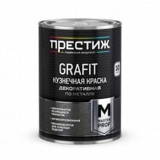 """Краска кузнечная с эффектом """"GRAFIT"""" черная 0,9 кг"""