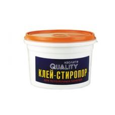 """Клей   стиропоровый   4 кг""""QUALITI"""" (4шт)"""