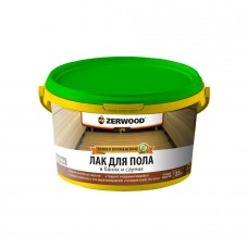 Лак ZERWOOD LРB/акрил д/пола в банях и саунах 2.5 кг (4)