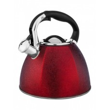 НМ 55108-1 чайник со свистком, 3,0 л. красный (12шт)