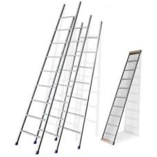 Лестница приставная 9 ступеней Л9 (450х45х2220мм) НИКА