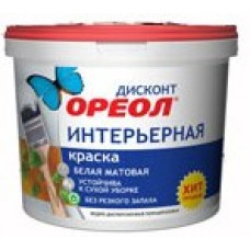 "ВДАК ""Ореол"" ДИСКОНТ интер. 6,5 кг бел. п/а мат (2) 6533"