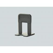 """СВП Зажим """"Ворота"""" 1,4 мм, черный 100шт, пакет (15пак/короб)"""