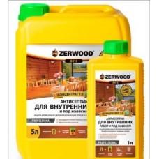 Антисептик AV-5 внут/р конц. 1:5 1л кан./6 ZERWOOD против жуков/грибка/гниения