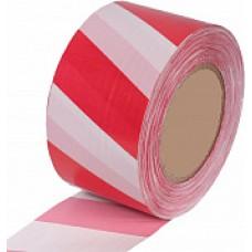 Лента оградительная красно-белая 50*200мм