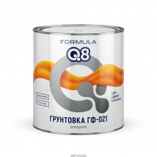 """Грунтовка ГФ-021 кр-кор  0,9 кг """"FORMULA Q8"""""""