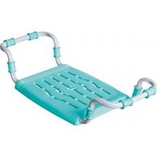 Сиденье для ванной  раздвижное (пластик) бирюзовый СВ5 Ника