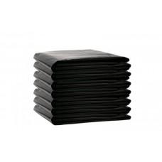 ВП-0003 Мешки д/мусора ПВД 120л (70х110см/25мкм) пласт черные (50шт/уп 250шт/меш)