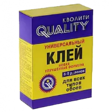 Клей QUALITY универсальный 200 гр (ПАЧКА) (36)