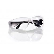 Очки защитные ударопрочные, поликарбонат открытого типа прозрачные