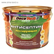 Deco Tech Eco калужница 10 л Антисептик