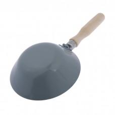 Ковш штукатурный стальной, деревянная ручка, крюк, 170мм RUTEK