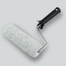* Валик мех иск. 100 мм d 42 мм, ручка 6 мм, ворс 12 мм (100шт/уп) (Новосиб)