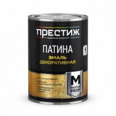 ПРЕСТИЖ Эмаль декоративная Патина АЛЮМИНИЙ 0,2 л.
