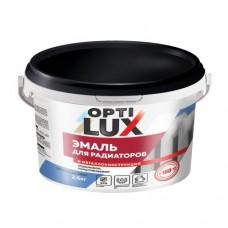 Эмаль Оптилюкс акриловая д/радиат.и метал. 1кг(12)