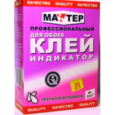 Клей МАСТЕР обойн. индикатор 0,2 кг (36)