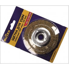 RUTEK Щетка металл. для УШМ 150мм/22мм, плоская