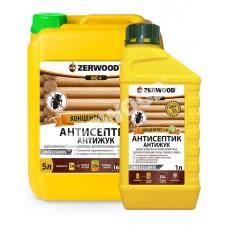 Антисептик ANZ-4 антижук  1л.  конц1:4 ZERWOOD  (6)