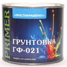 """""""ПРОСТОКРАШЕНО"""" грунт ГФ-021 1 кг красно-коричневый"""