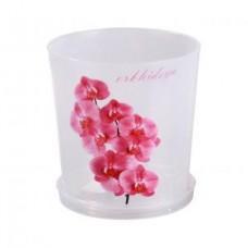 М1604 Горшок цв.д/орхидеи 1,8л с подд.прозрачн(30)