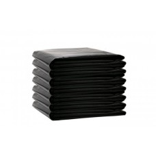 ВП-0007 Мешки д/мусора ПВД 120л (70х110см/35мкм) пласт черные (50шт/уп 200шт/меш)