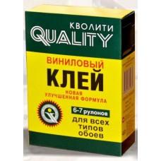 Клей QUALITY (ПАЧКА) спец. винил 200 гр  (36)