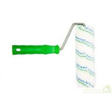 """* Валик """"ПОЛИАКРИЛ"""" 240 мм, d 42мм, сине-зеленый, ручка 8 мм ворс 18 мм (40шт/уп) (Новосиб)"""