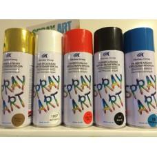 Аэрозольная краска SPRAY ART Бронза Металлик