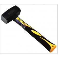 Кувалда кованая с пластиковой ручкой 1000гр. RUTEK
