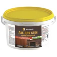 Лак Коллекция д/стен, 2,5 кг устойч.к загрязнен.суперглянц.(4)