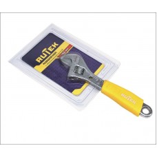 Ключ разводной 150мм с обрезиненной ручкой RUTEK
