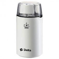 Кофемолка DELTA DL-087К белая, 250Вт, вместимость 60гр